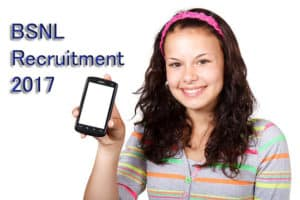 BSNL Recruitment 2017