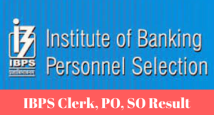 IBPS Clerk Mains Result 2017